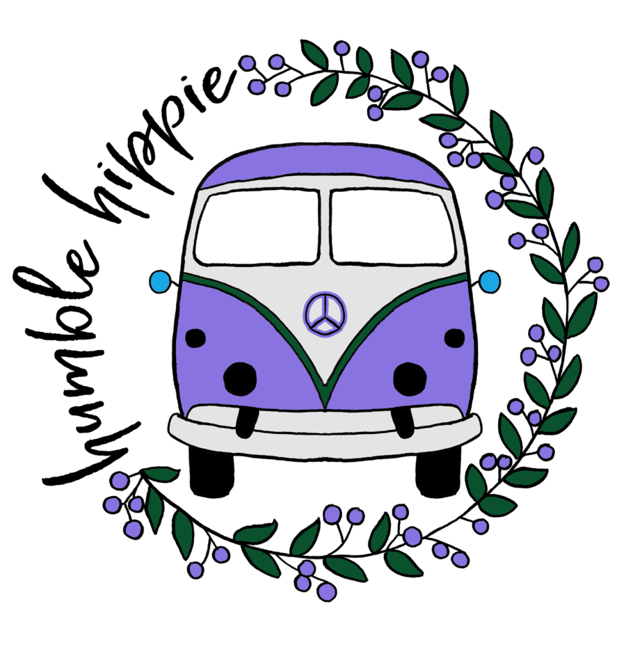 Illustration based on Cassidie Cummins' design for Humble Hippie clothing